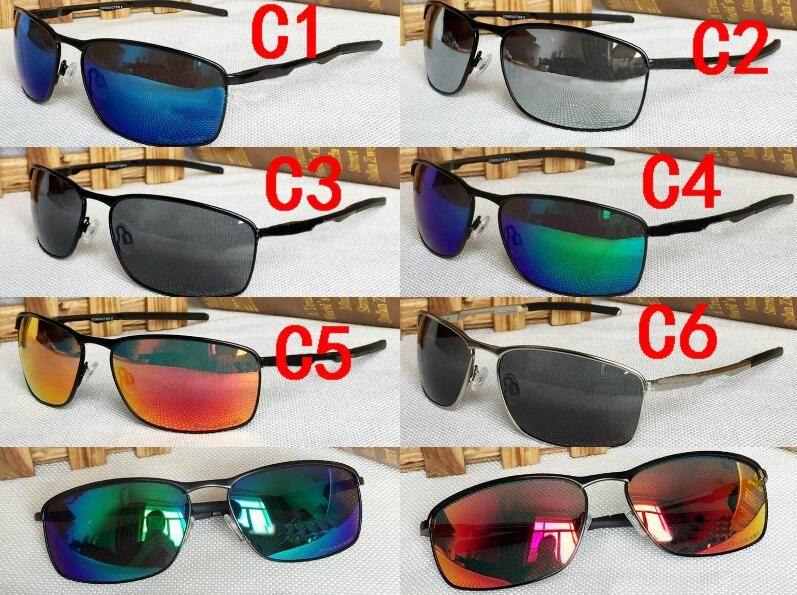 Compre 2018 Nova Marca Esportes Óculos De Sol Designer De Óculos  Polarizados Homens Mulheres Moda Armação De Metal Óculos De Sol Acessórios  De Moda De ... 139f20a0e7
