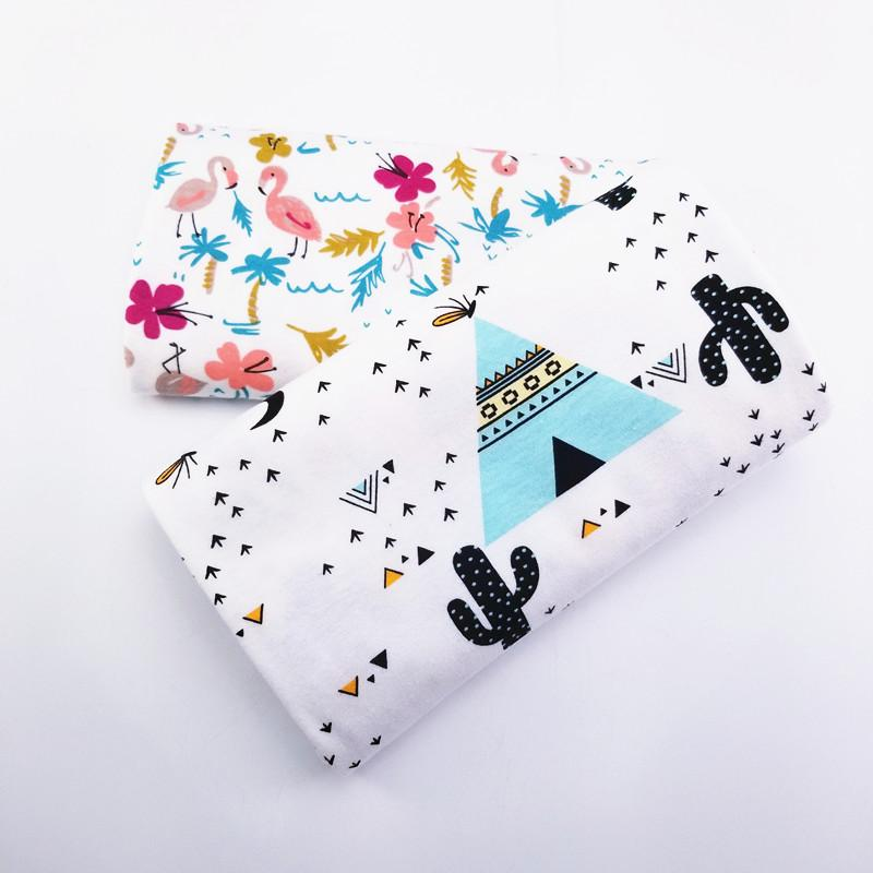 5b797caf19b 2019 New Prints Kids Cotton Knitting Fabric Baby Cotton Jersey Fabric By  Half Meter DIY Sewing Baby Clothing Cloth 50*170cm From Frenzen, $41.19 |  DHgate.