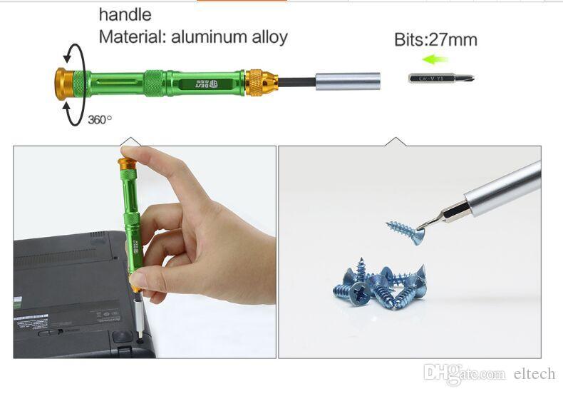 Magnetic Precision Screwdriver Set Disassemble Repair Laptop Mobile Phone Tool Set with Tweezers Spudger Prying tool