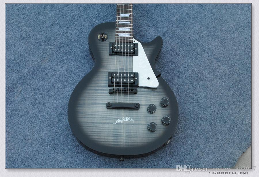 OEM Guitar New Arrival les Black Gray Custom paul Electric Guitar High Quality Musical instruments