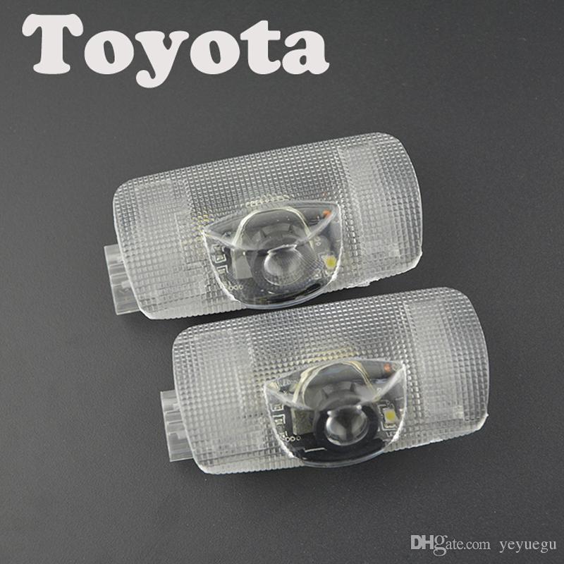 Luci laser auto 3D logo proiettore benvenuto luci a led lampada fantasma ombra Audi BMW Benz Toyota