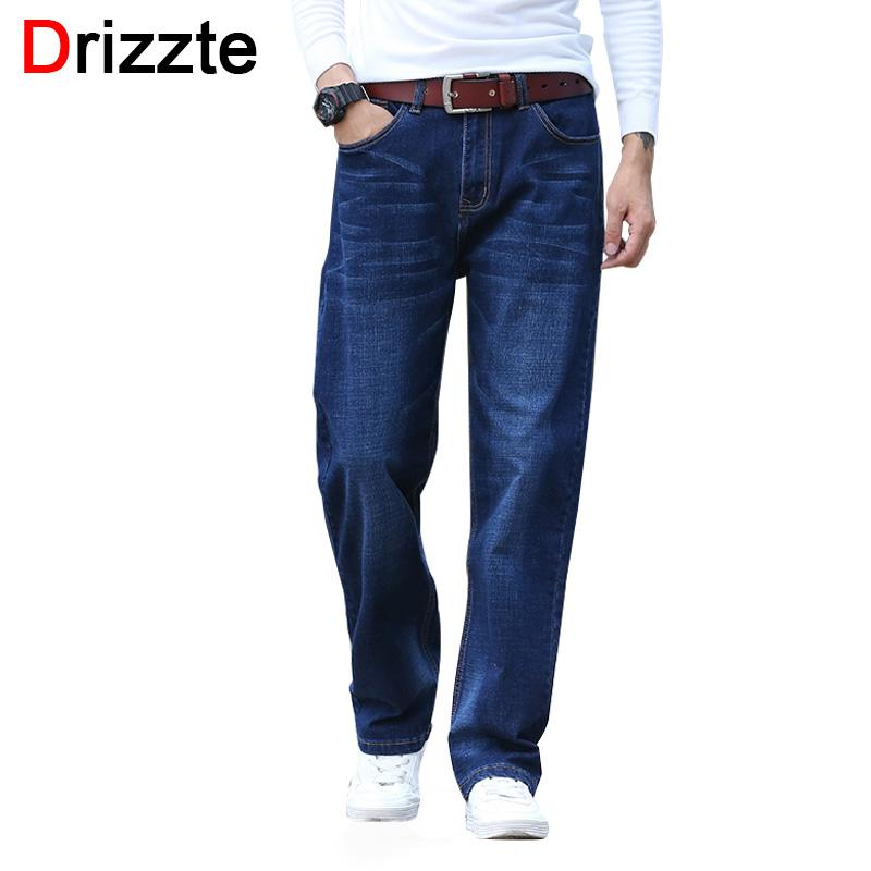 cd849cd8 2019 Drizzte Blue Loose Fit Jeans Mens Stretch Denim Jean Relax Fit  Trousers Pants Jean Plus Size To 36 38 40 42 44 From Luhaluha, $93.92 |  DHgate.Com