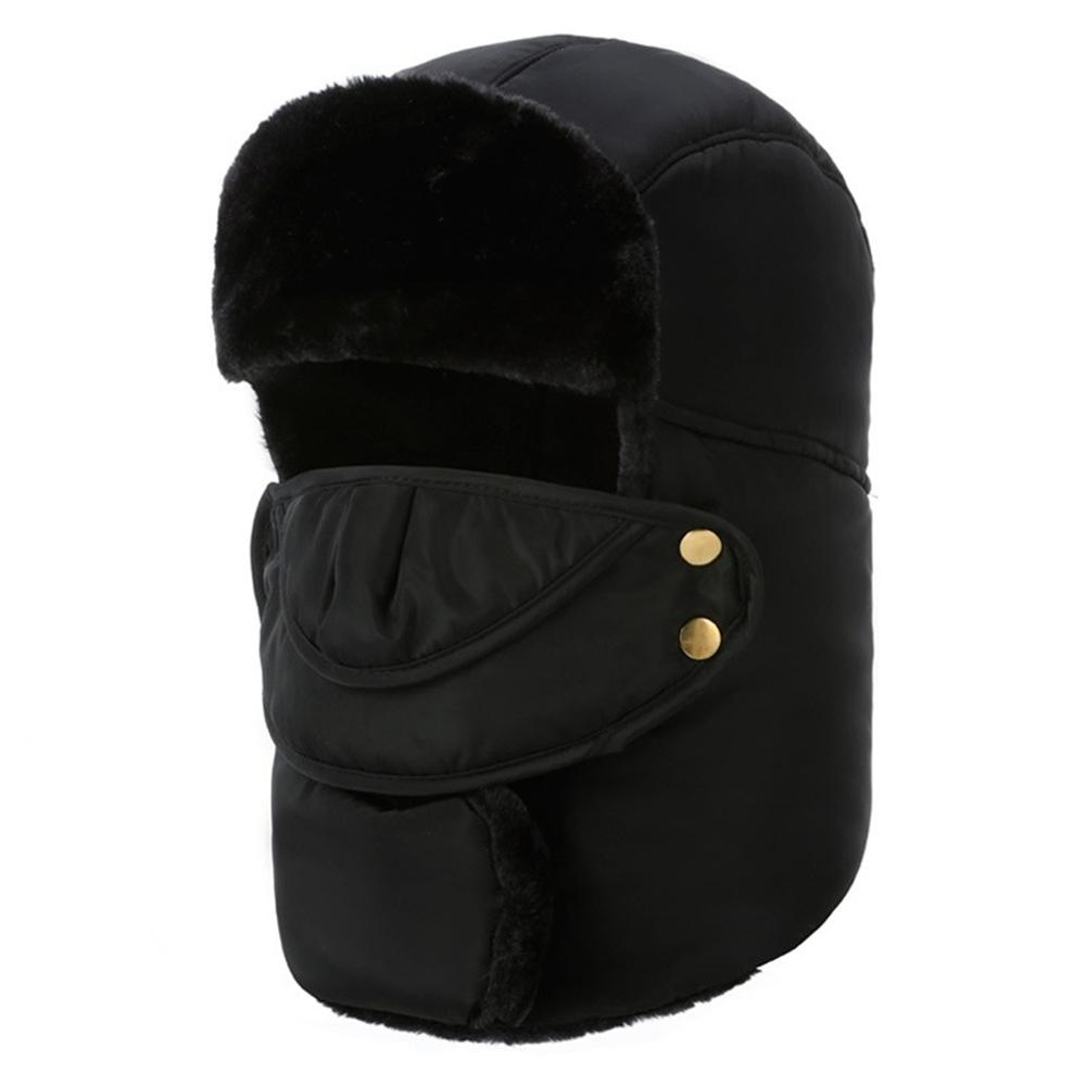 92b3e0f2b16d8 W Winter Thermal Hunting Caps Trooper Trapper Hat Hiking Russian Hat Ear  Flap With Windproof Mask Bomber From Mtaiyang