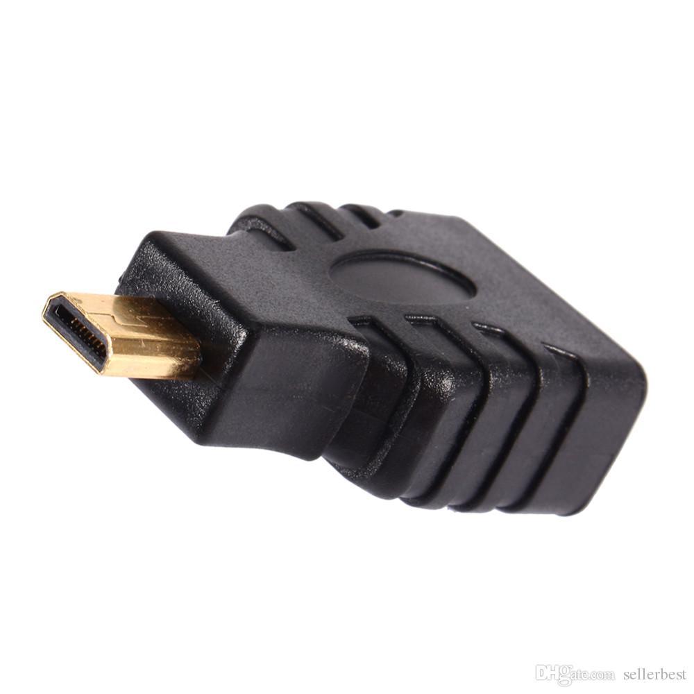 VBESTLIFE Ses HDMI Kabloları Mikro HDMI erkek hdmi kadın Fiş Adaptörü Altın Kaplama Konnektör Adaptörü Dönüştürücü için HDTV TV KUTUSU