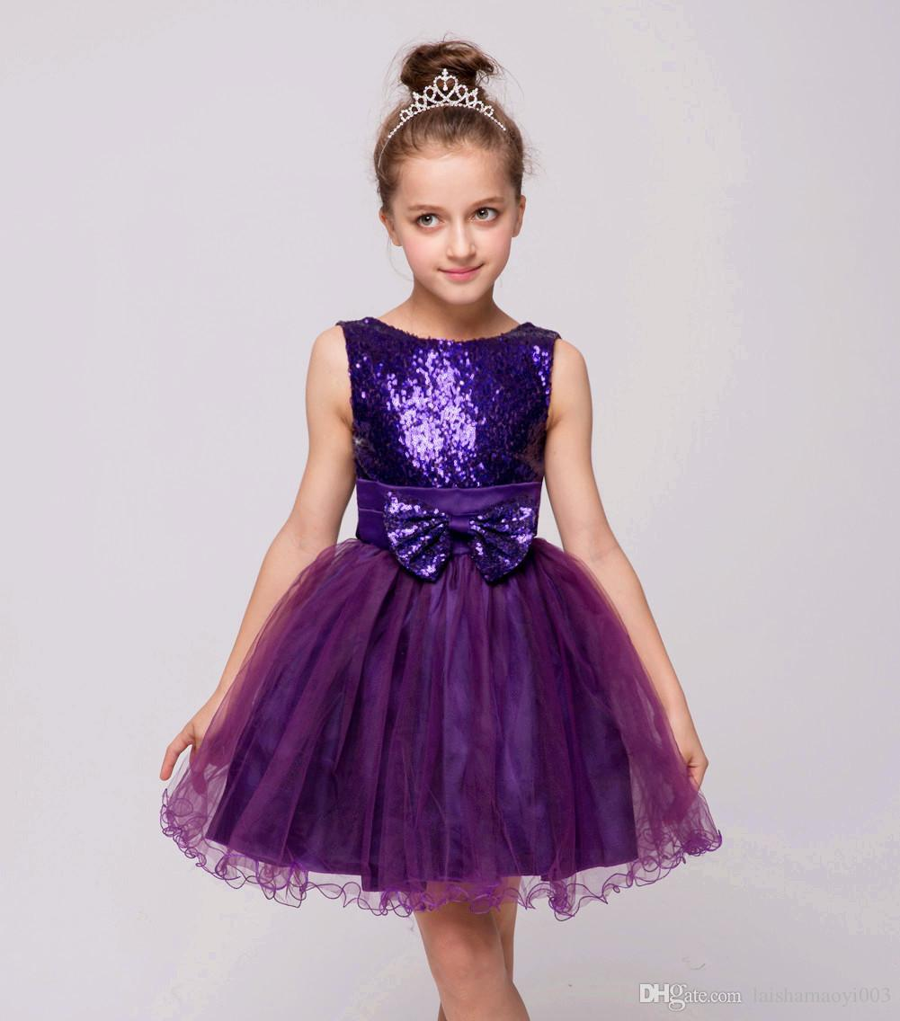 41cd16e5743e6 Baby Girl Kids Prom Gown Designs Party Dress For Girl Children s Princess  Costume For Kids Formal Vestidos Girl Ceremony Clothes