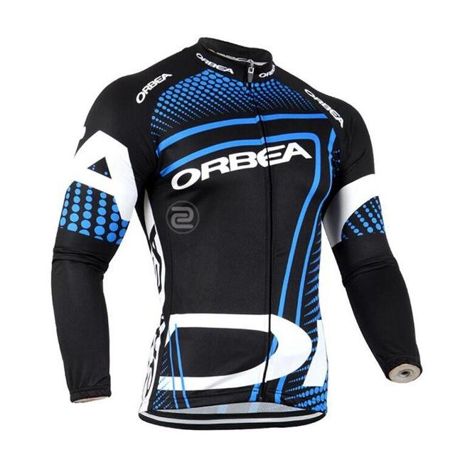 022de8875 New Team ORBEA Jersey 2018 Long Sleeve Road Bike Shirts Breathable Cycling  Clothing MTB Maillot Ropa Ciclismo High Quality Mens Cycling Shorts Cycling  Bibs ...