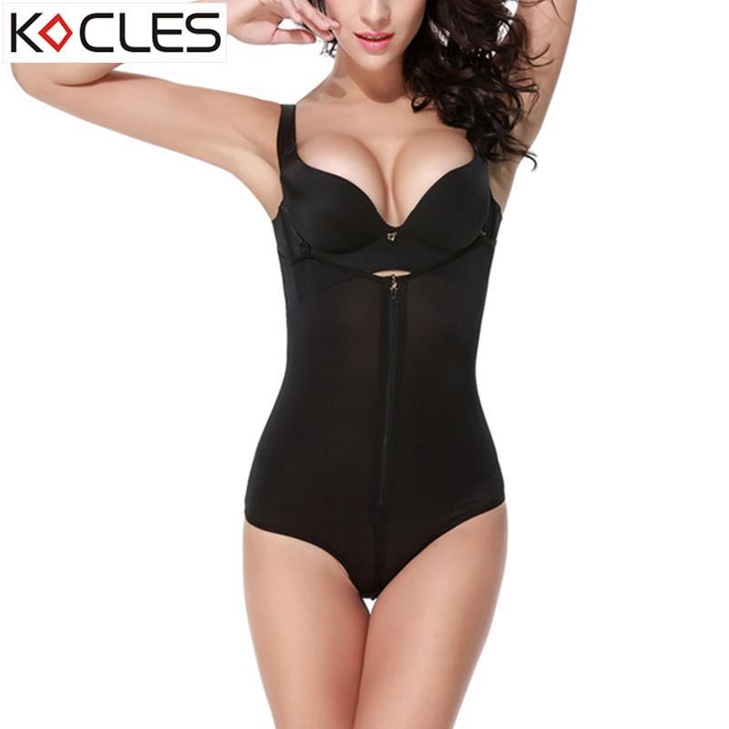 eb60244f309 2019 Slimming Body Shaper Underwear Shapewear Bodysuits Women Lingerie  Waist Trainer Hot Shaper Slimming Underwear Bodysuit From Candd