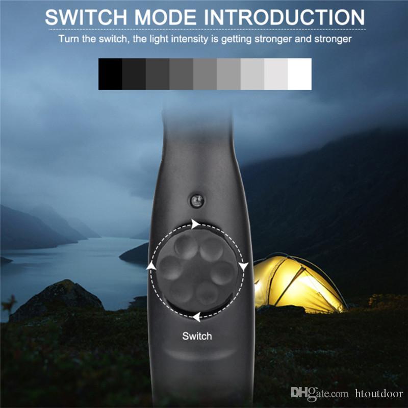 10 Watt Helle COB-Taschenlampe Wiederaufladbare LED-Taschenlampe Kompakte COB-Notleuchten Dimmbare Design LED