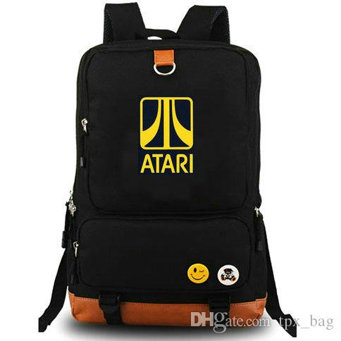 555a3f8afa4e Atari Backpack First One Daypack Game Schoolbag Leisure Design Rucksack  Sport School Bag Outdoor Day Pack Mochilas Jansport School Backpacks From  Tpx bag