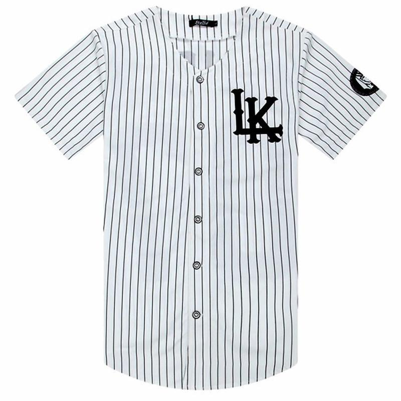 657308cf7a Compre Hombre Si Tun 07 Last Kings Baseball Camiseta Tyga Jerseys Negro  Blanco Unsex Hombres Mujeres Hip Hop Style Tees Tops Rap Camisetas A  41.93  Del ...