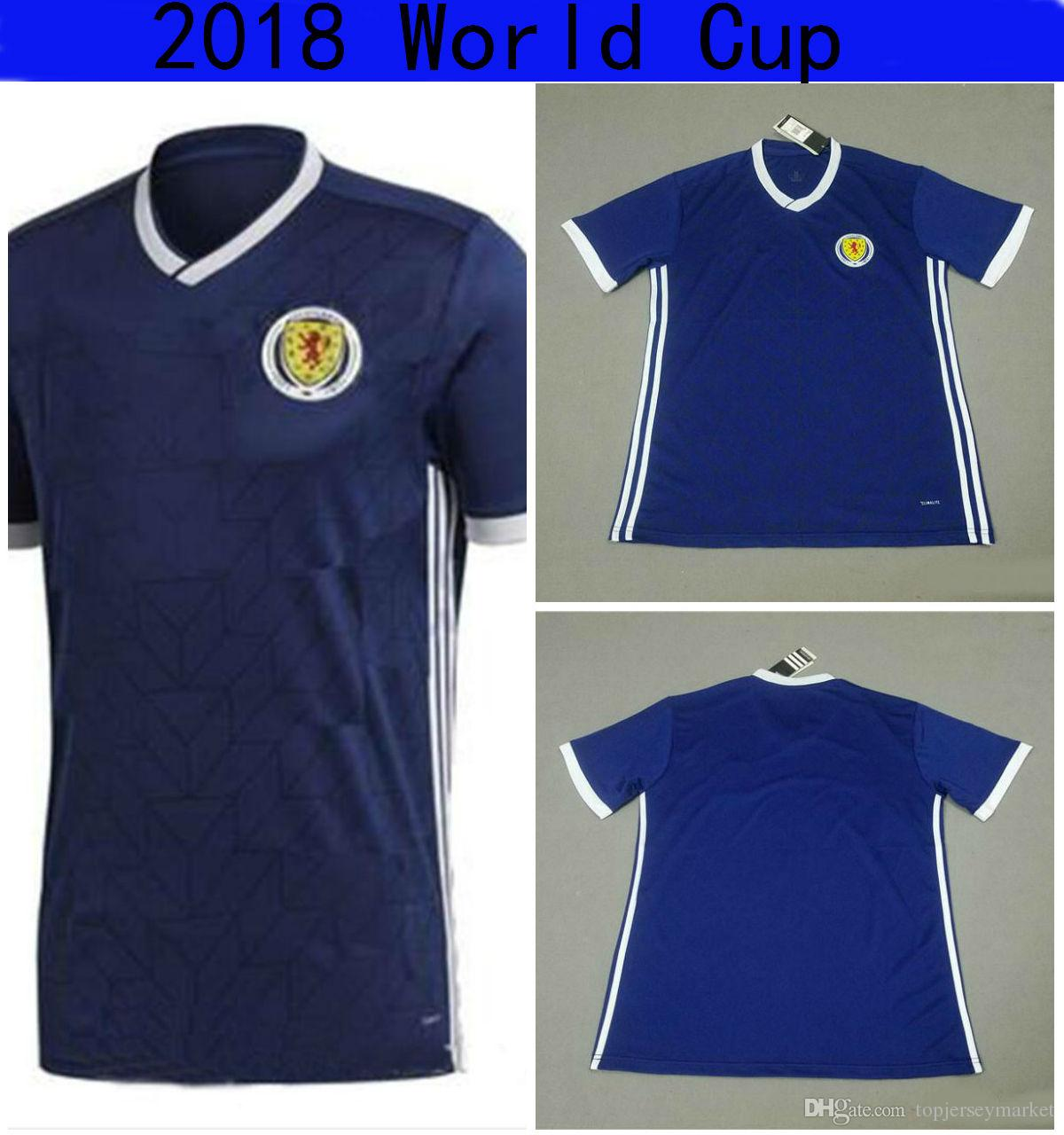 aaa scotland tracksuit 2018 world cup t shirt top thailand quality scotland home replica jersey nati