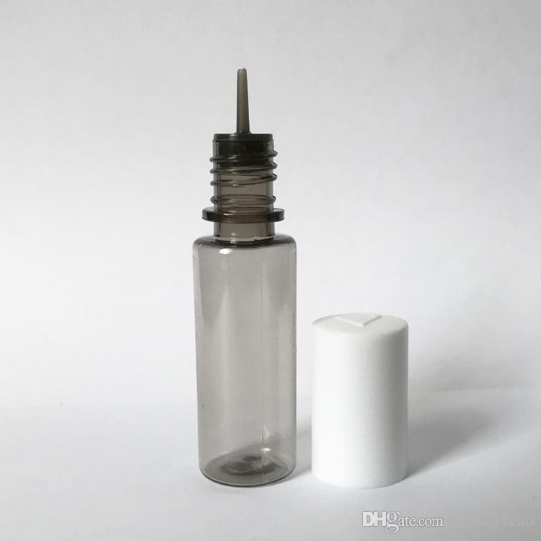 Wholesale 10ml PET dropper juice bottles buy vape e-liquid e-juice e cig  empty bottles with white pink black childproof screw lids