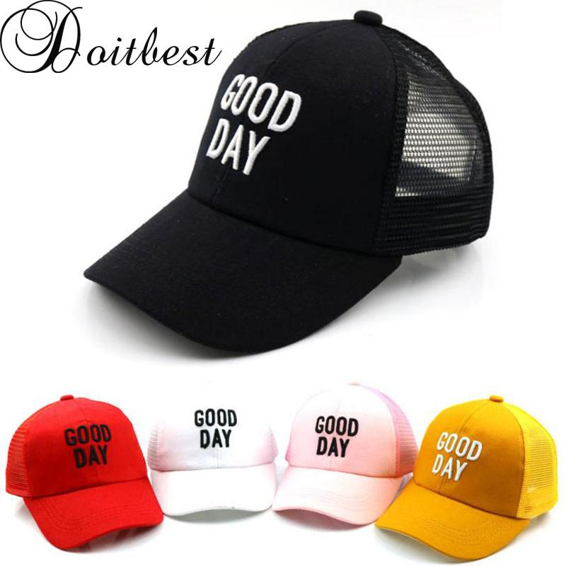 058a862e9 2019 2018 Solid Children Hip Hop Baseball Cap Embroidery Letters Summer Kids  Sun Hat Boys Girls Mesh Snapback Caps Age For 2 8 Years From Yarqi, ...