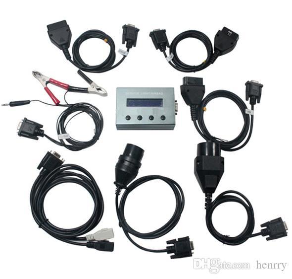 Si-сброс 10-в-1 Си-сбросить 10 в 1 Универсальный сервис свет подушка безопасности сброса инструмент OBD2 диагностический кабели