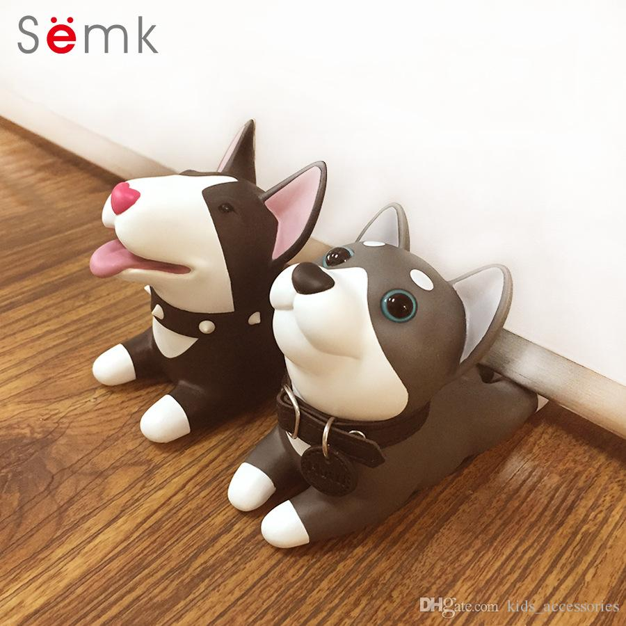Discount Semk Cute Cartoon Dog Door Stopper Holder Bull Terrier Pvc Safety  For Baby Home Decoration Dog Anime Figures Toys For Children From China |  Dhgate.