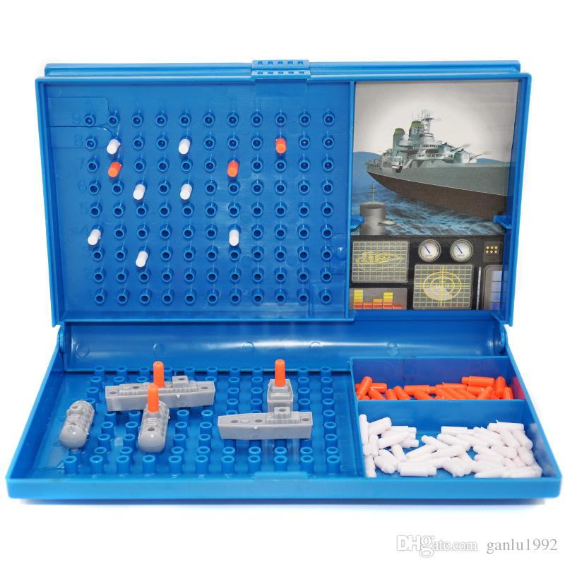 Sea Warship Toy The Sea Battle Modle Game Children Puzzle Toys Arder Motion Plastic Free Shipping 10 8yh V