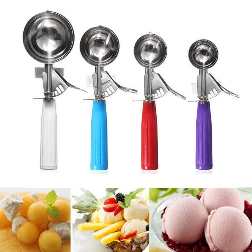 2019 stainless steel ice cream scoop cookie disher spoon watermelon rh dhgate com