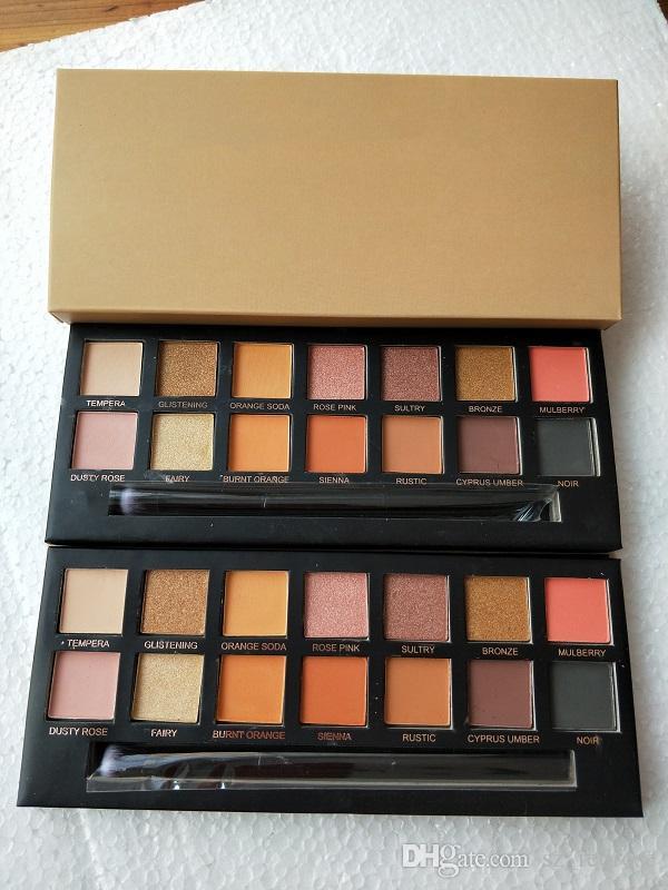 Qualität! Marke Make-up Lidschatten-Palette begrenzt Lidschatten-Palette mit Pinsel Lidschatten-Palette freies Verschiffen