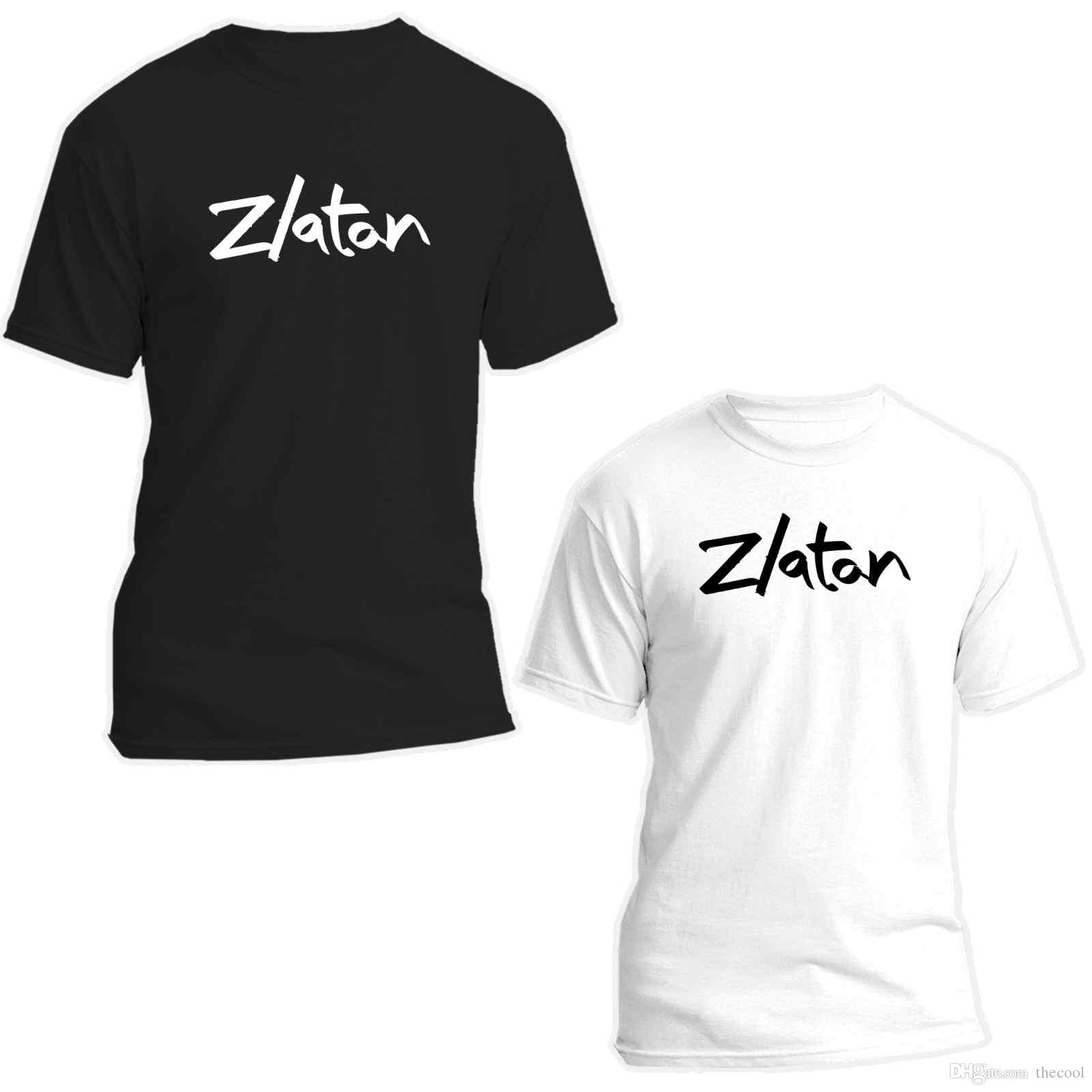 quality design 77abd 65cce ZLATAN IBRAHIMOVIC FOOTBALL T SHIRT **DIFFERENT COLOURS AVAILABLE**