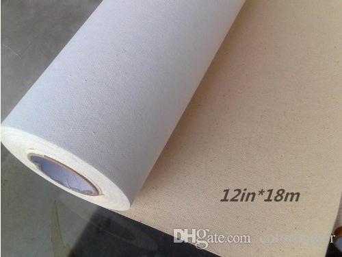 12in 18m digital inkjet print art canvas for room decoration or art