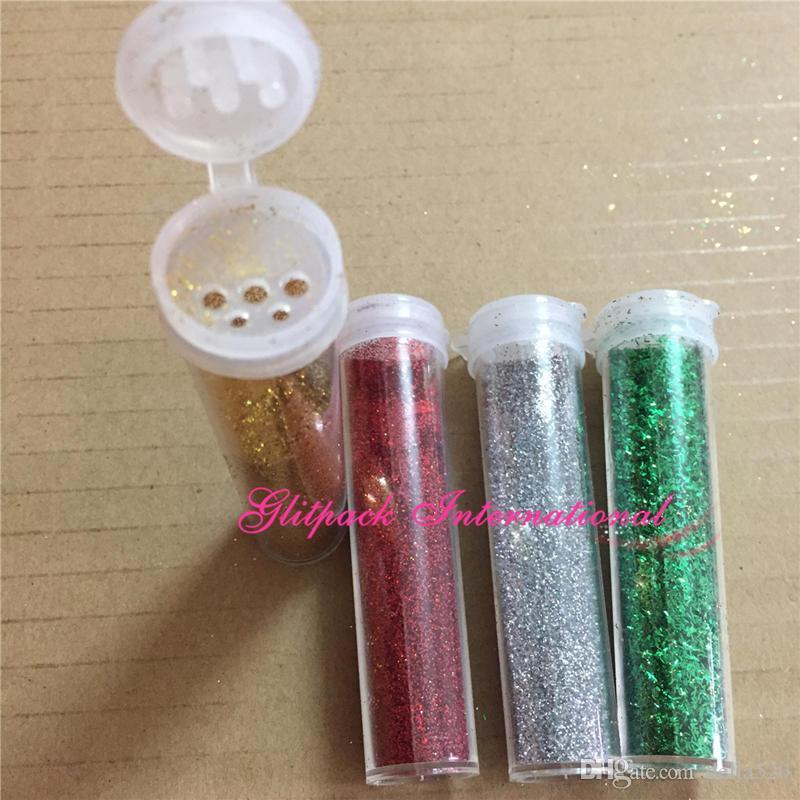 5 g / şişe glitter shaker OEM Toplu gevşek resim Glitter toz seti çocuklar glitter toz zanaat mix renkli dolum glitters hizmeti