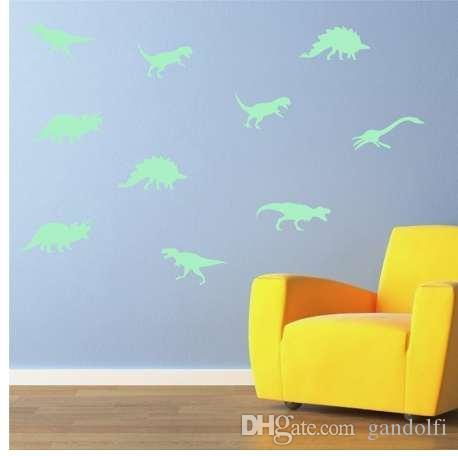 fluorescent wall stickers kids room decoration plastic glow in the