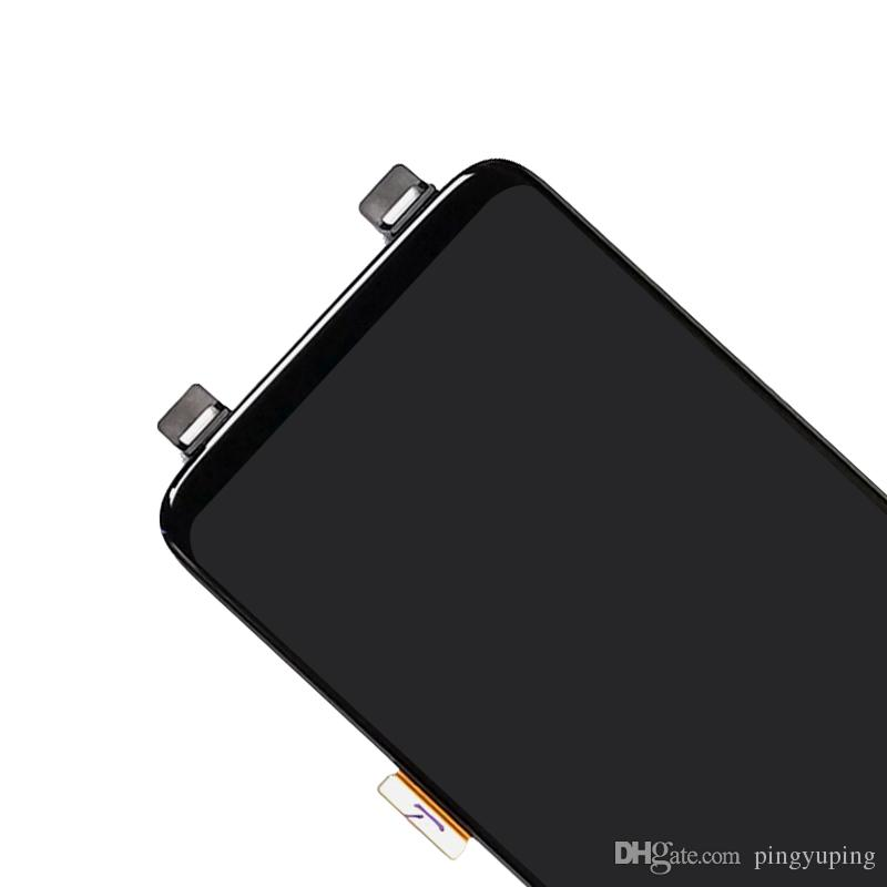 Display LCD Samsung Galaxy S8 G950 con touch digitizer assembly nero Consegna DHL gratuita s8
