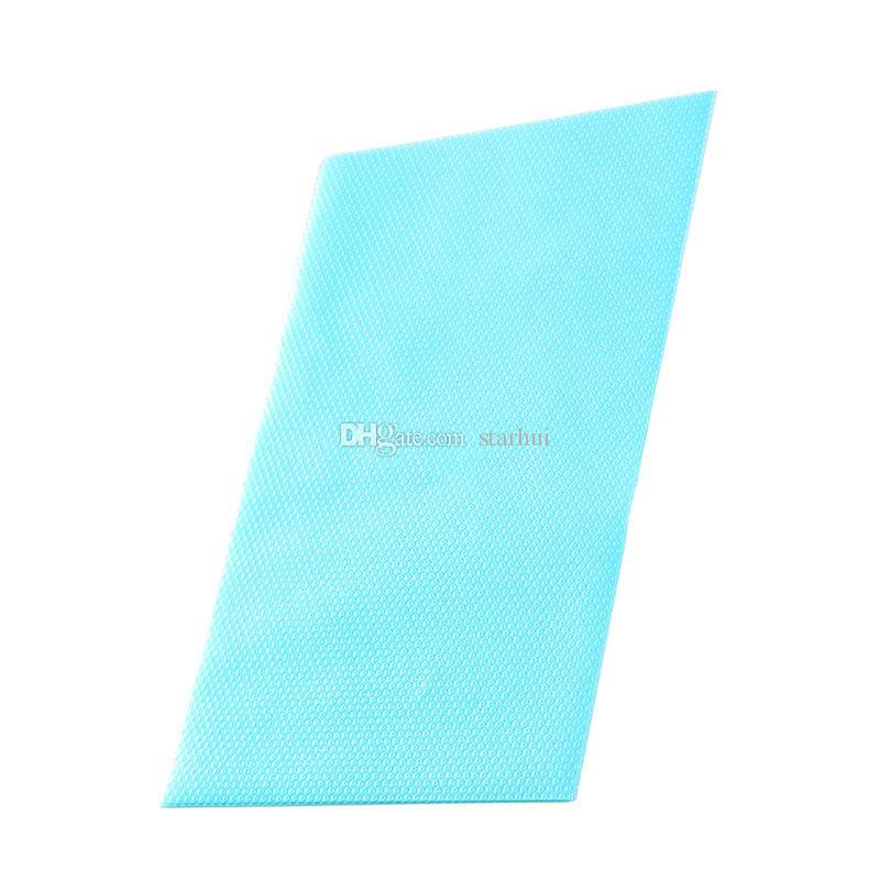 4 unids / set Multifuncional Almohadillas para Refrigerador Antideslizante Antideslizante Antiadherente Moho Absorción de Humedad Almohadillas de Refrigerador WX9-456
