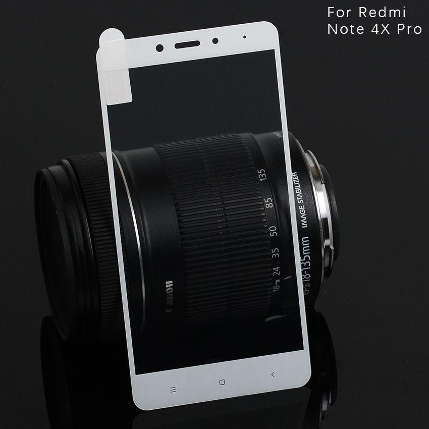 Закаленное стекло для Redmi Note 4X Pro Полный экран протектор экрана для Xiaomi Redmi Note 4X Pro 9H Защитное стекло