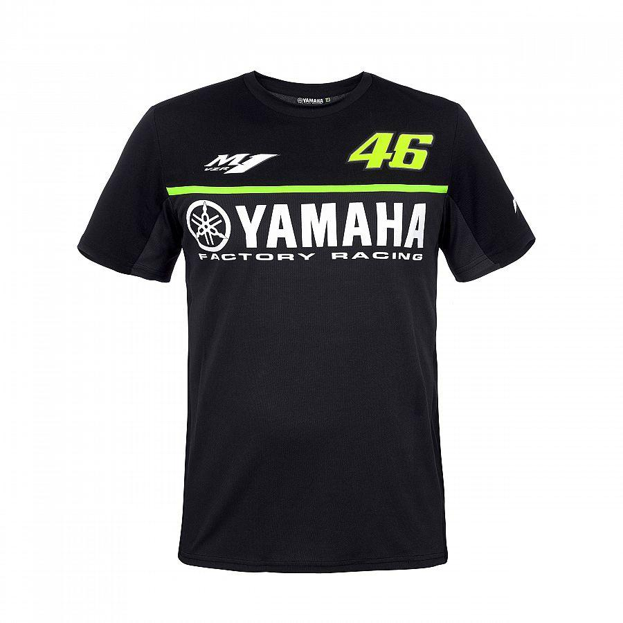 Moto GP for Yamaha Racing Black Men's T-Shirt Motorcycle Motocross ATV Sports Jersey