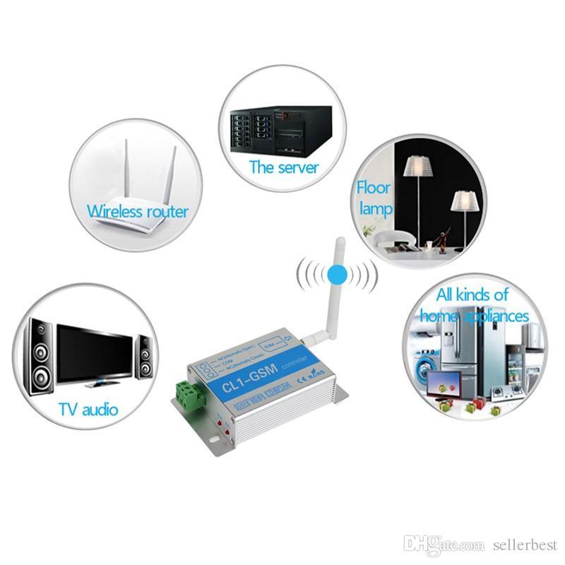GSM-Relais SMS-Anruf Fernbedienung GSM-Toröffnerschalter für die Steuerung Haushaltsgerät Wasserpumpenmotor Rolltor an der NI5L