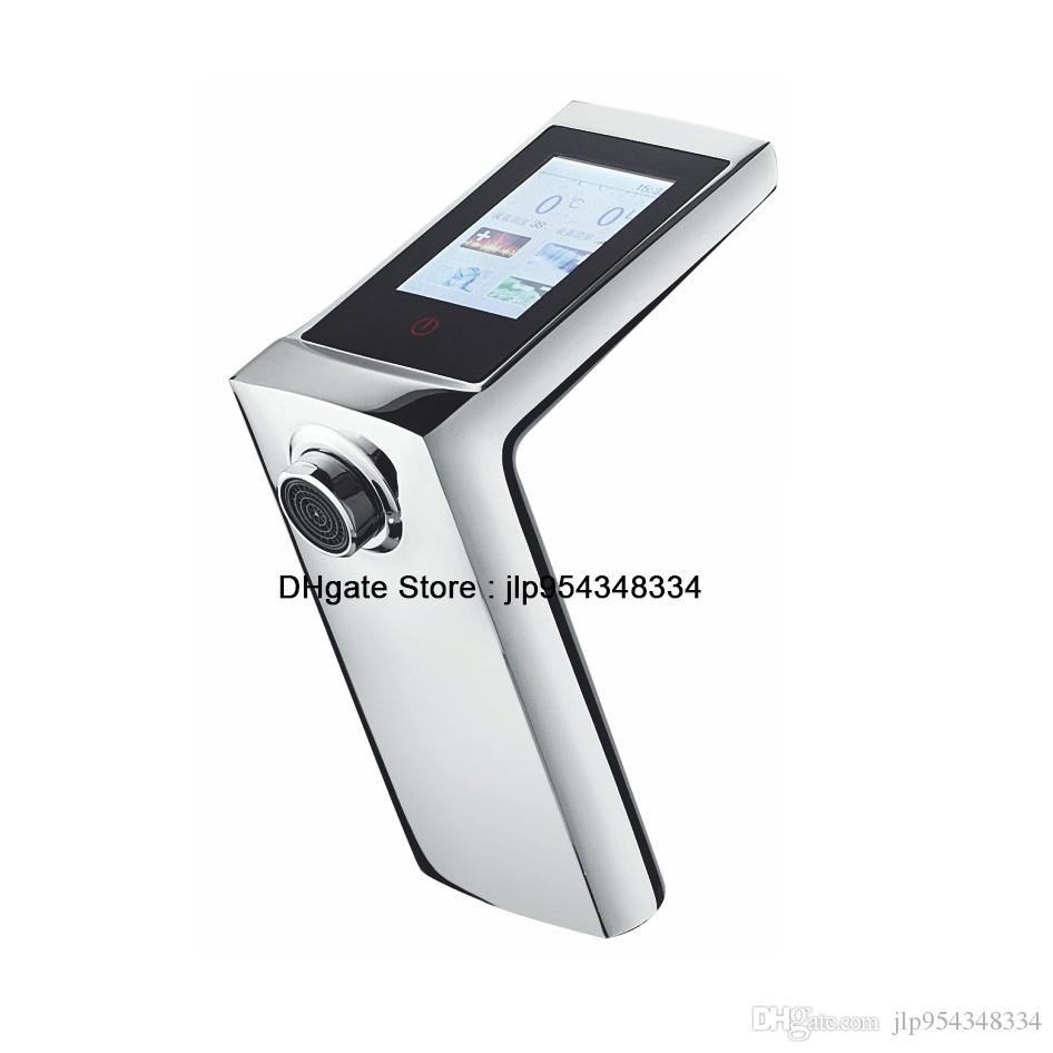 Mobile Shape Digital Thermostatic Faucet/integrated Cold&hot Water ...
