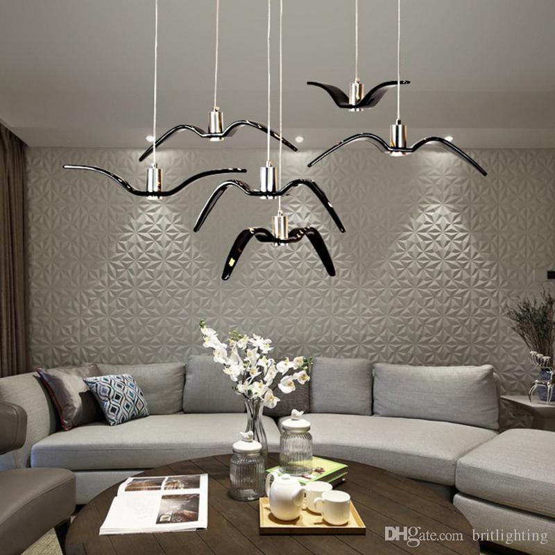 Modern Living Room Led Pendant Lighting Restaurant Bar Cafe ...