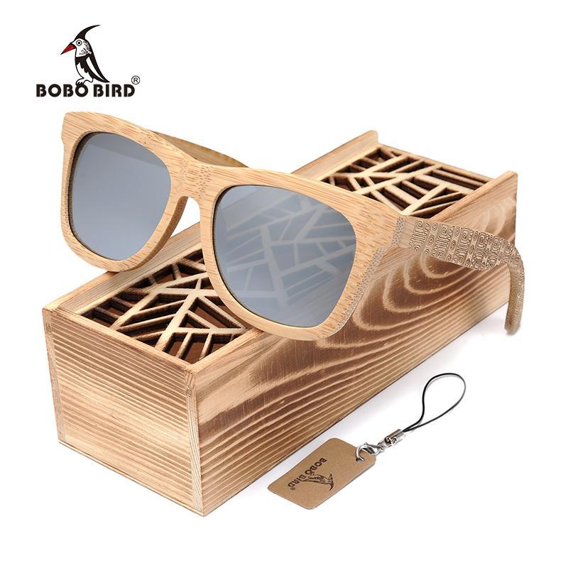 ad54603d97 Compre BOBOBIRD Playa De Madera Natural Personalidad Grabado Gafas De Sol  Gafas De Sol Cuadradas Polarizadas Gafas De Sol Vintage En Caja De Regalo A  $39.64 ...