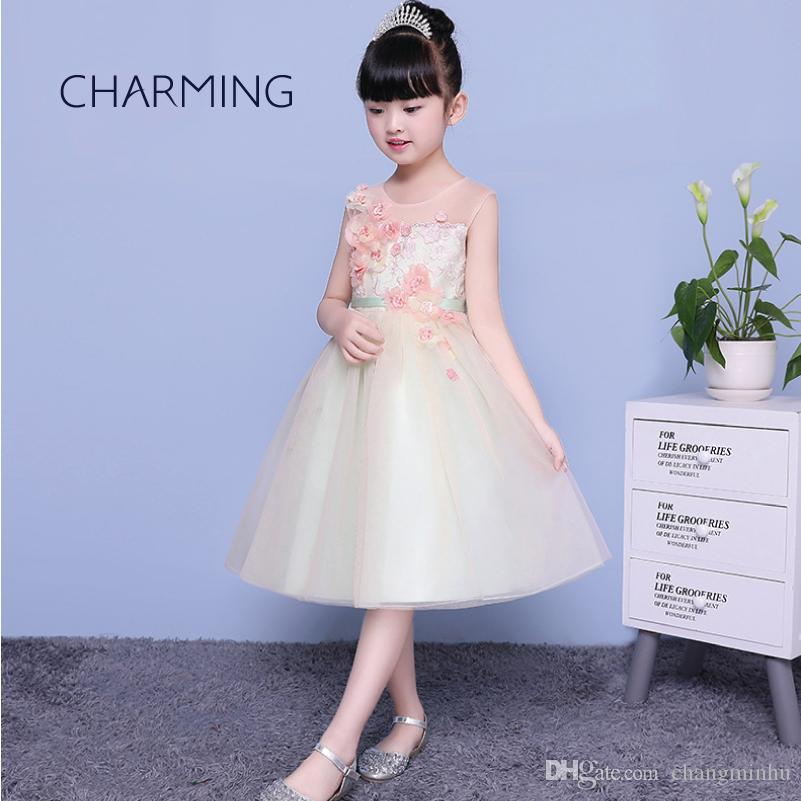 Fancy Dresses For Girls Cute Dresses For Girls Opening Season Graduation  Ceremony Dresses Festival Performance Piano Performance Child Dress Teenage  ... e76d214f5d27