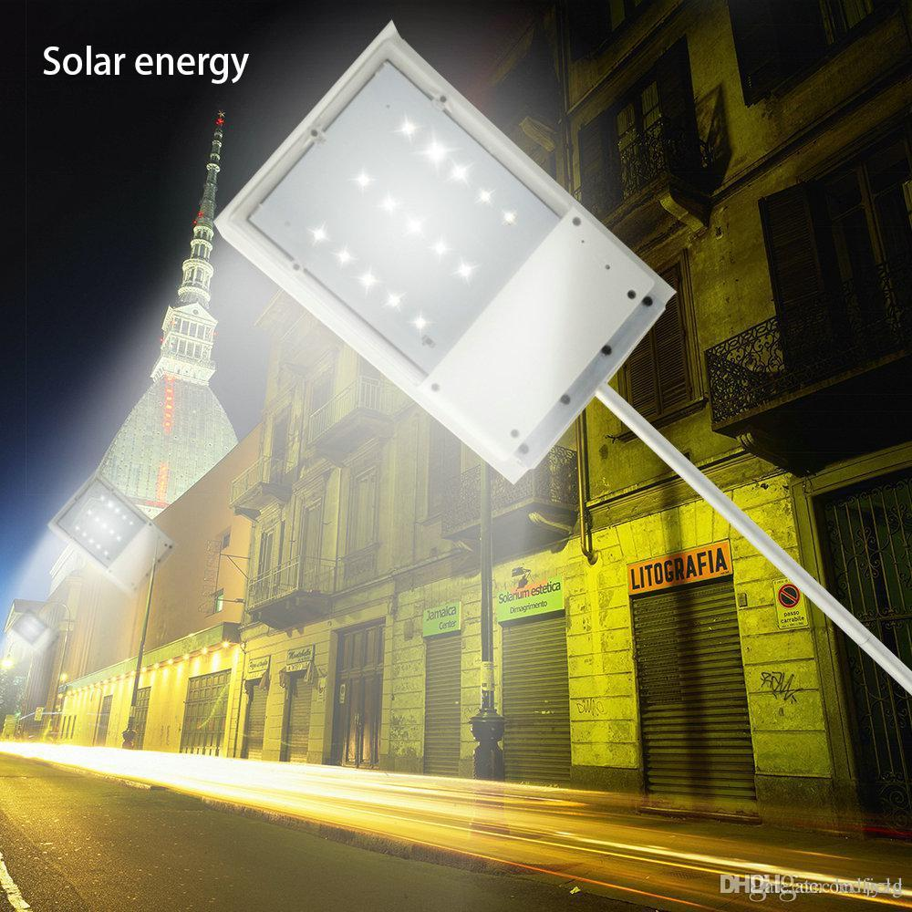 15 LED Solar Power Straßenlaterne Solar Sensor Gartenleuchte Home  Außenbeleuchtung Pfad Wand Notlicht Spot Licht Luminaria