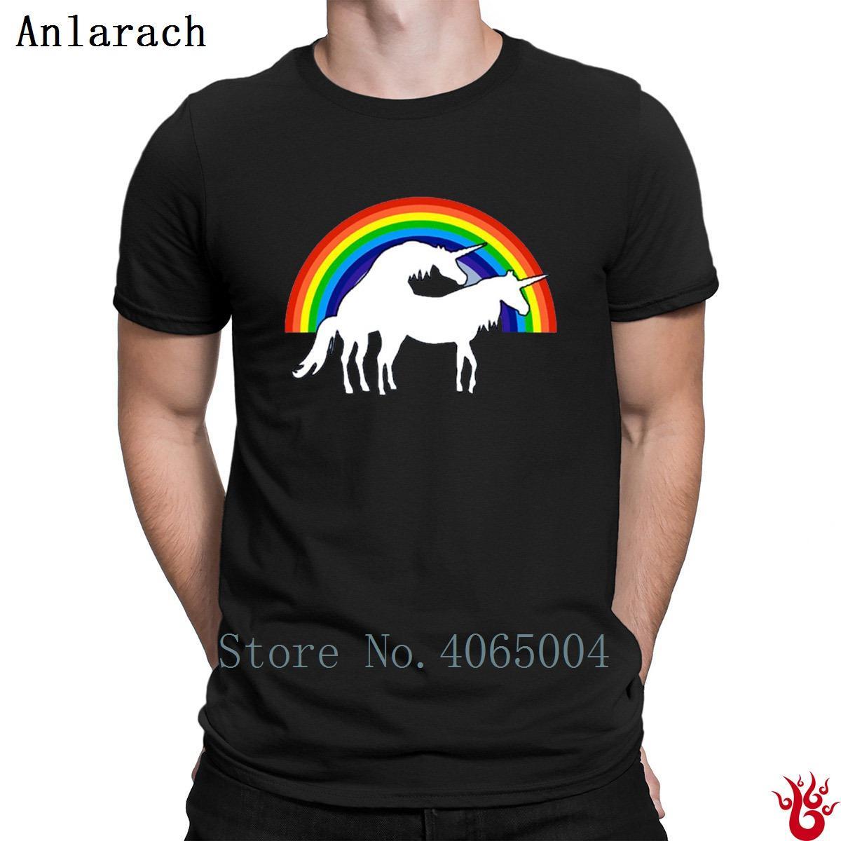 Compre Camiseta Con Estampado De Unicornios Camiseta De Manga Corta Camiseta  Con Estampado S Xxxl De Hombres Camiseta Con Estampado Pop De Verano Nuevos  ... 6316c43602a29