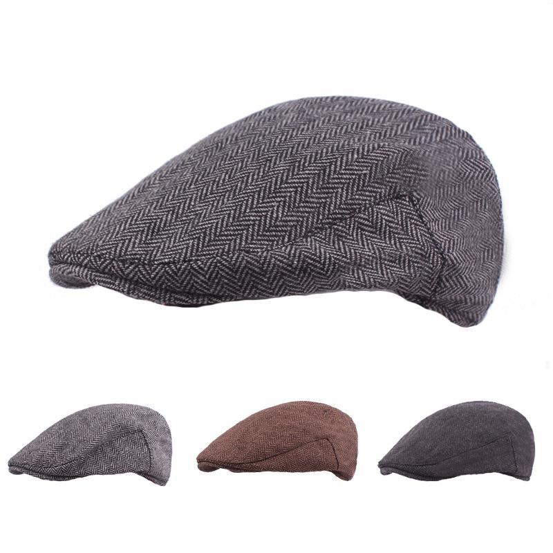 b860933f0de 2019 2018 New Men Women S Hat Beret Cap Golf Driving Sun Flat Cabbie Newsboy  Fashion Vintage Unisex Beret Hats From Huazu