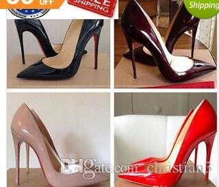 697a02996976 So Kate Styles 8cm 10cm 12cm High Heels Shoes Red Bottom Nude Color ...