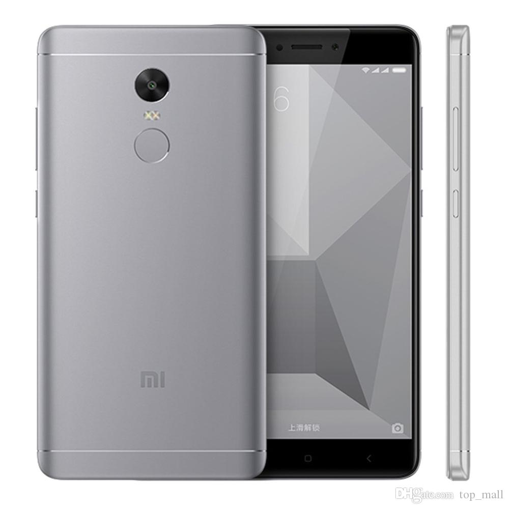 "Official Global Rom Xiaomi Redmi Note 4X 4GB 64GB Mobile Phone Snapdragon 625 Octa Core 5.5"" 4100mAh 13.0MP"