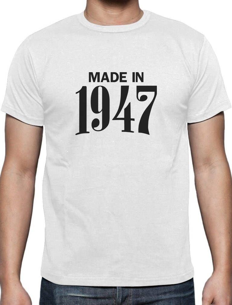 Made In 1947 Retro 70th Birthday Gift Idea Cool T Shirt Bday Present Best Funny Shirts Really From Pitshop 1101