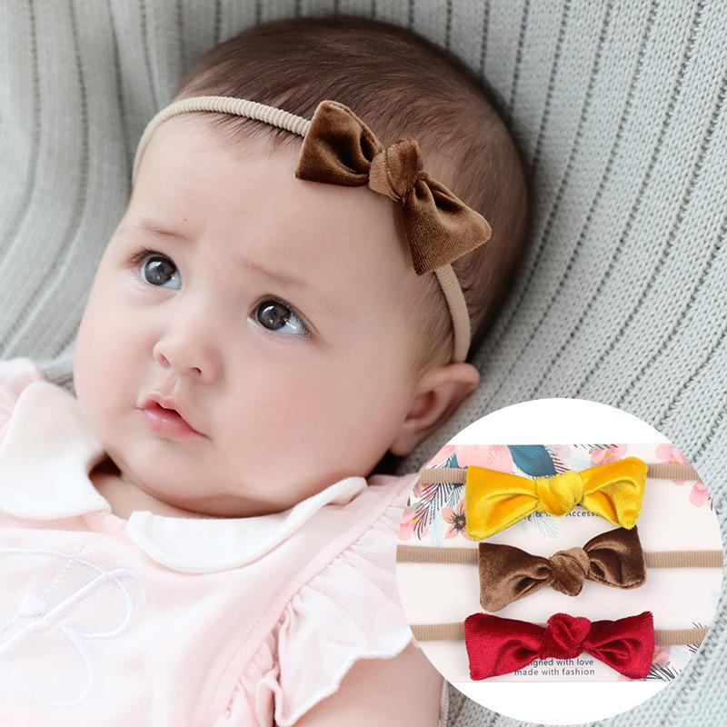 Mini Knot Bow Nylon Headbands 7e13d7fc0f0