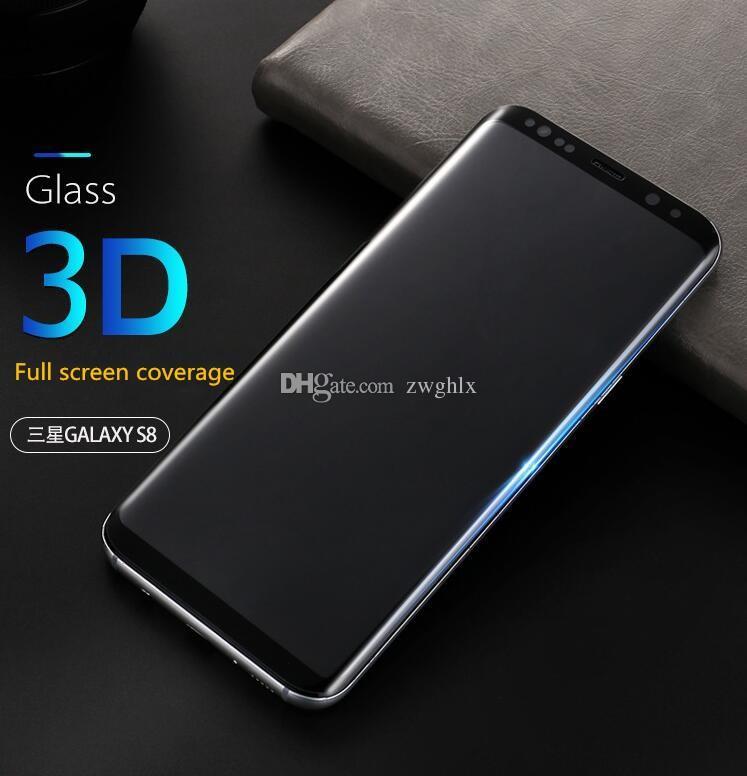 Smuk For Samsung Galaxy S6 Edge Plus S7 Edge S8 S9 Plus Note8 9H 3d JH-09