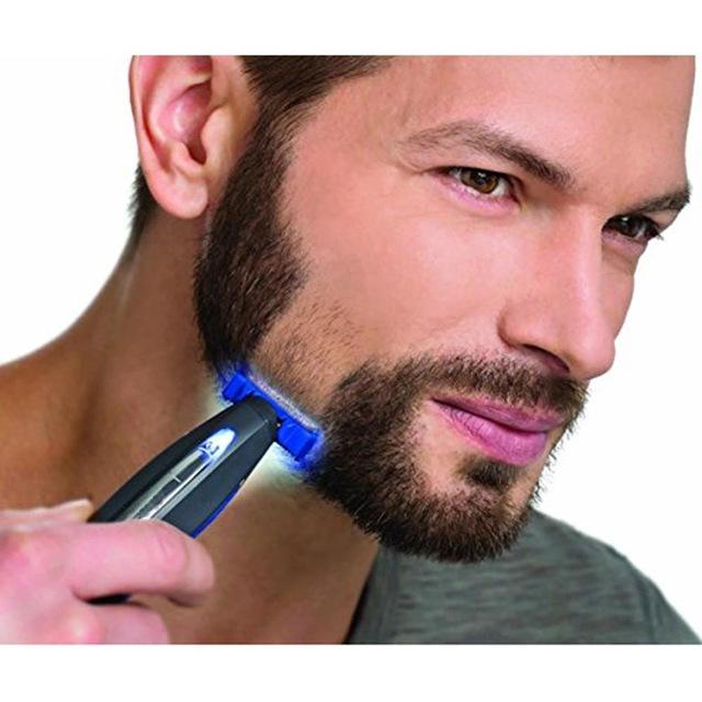 Electric Rechargeable Shaver Hair Cleaning Shaver Trimmer and Edger Hyper-Advanced Smart Razor