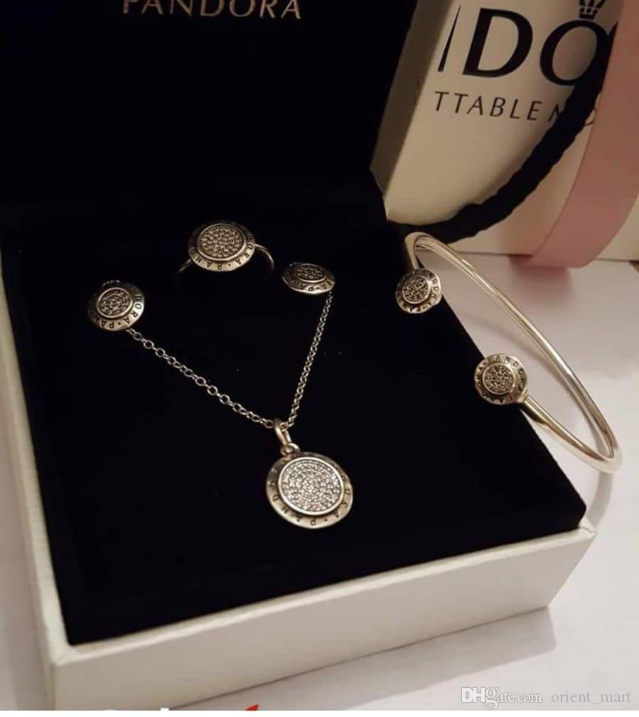 купить оптом новый 925 серебро высокого качества Pandora с