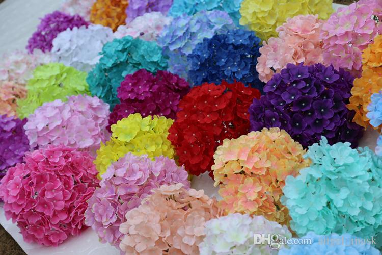 Online cheap 27 petals flowers heads artificial silk hydrangea online cheap 27 petals flowers heads artificial silk hydrangea bouquet fake flowers arrangement home wedding decor 37 colour select by angelmask dhgate mightylinksfo