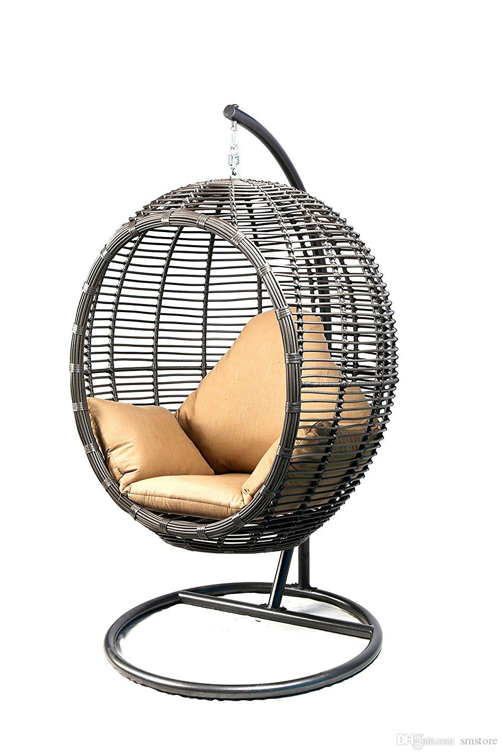 2018 Love Sex Chair Oval Egg Hanging Patio Lounge Chair Chaise Porch Swing  Hammock Single Seat Stand Wicker With Cushion, Bondage Couple For Couples  From ...