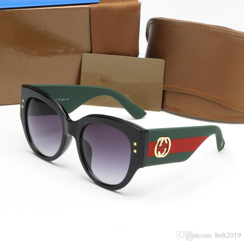 e9335c3896ab5 Compre Marca Para Homens Das Mulheres G3864 Óculos De Sol Com Logotipo  Evidência Óculos De Sol Designer Polido Moldura Preta Óculos Eyewear Frete  Grátis De ...