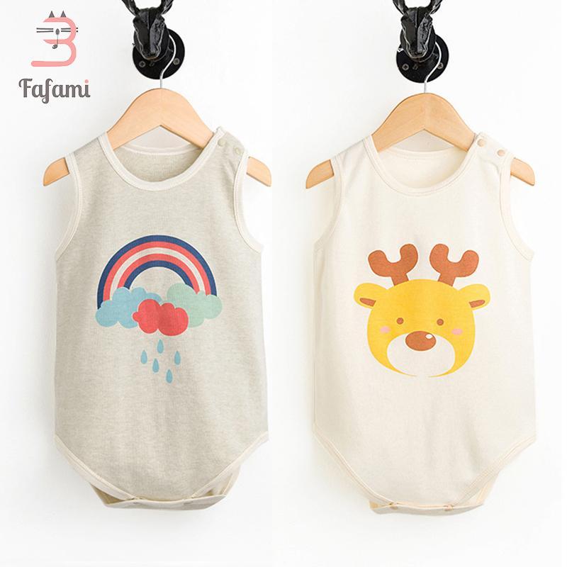 c0bf3bfdad1ed 2 pcs/lot Newborn Baby Bodysuit Baby Clothes Organic Cotton Babies  Bodysuits Boy Girl Clothing Cute Children jumpsuits