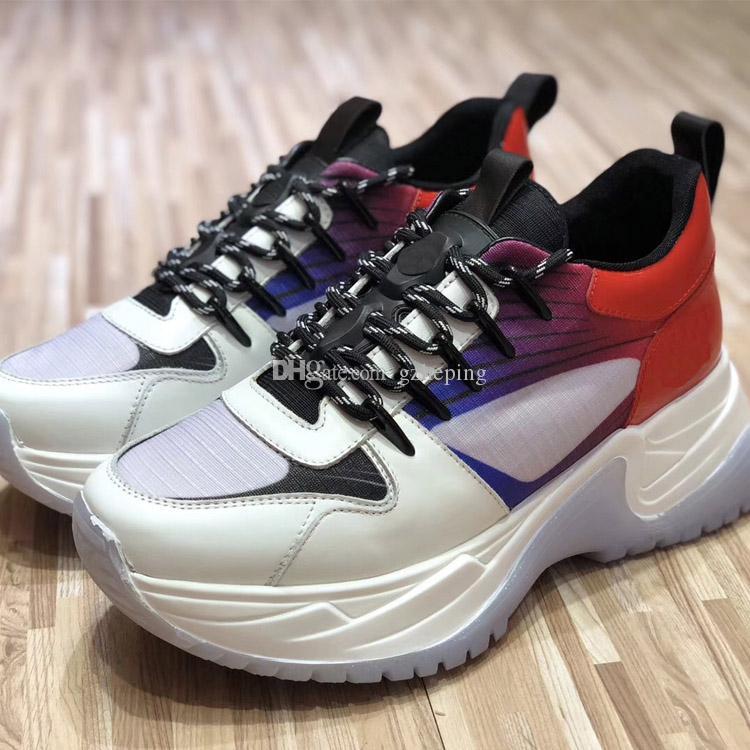 4af648b4ed79 High Quality 2018 Run Away Pulse Sneakers Mens Luxury Brand Sneaker ...